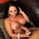 Super hot big tits hot ass babe power fucked hard on the couch arm rest host banging pics