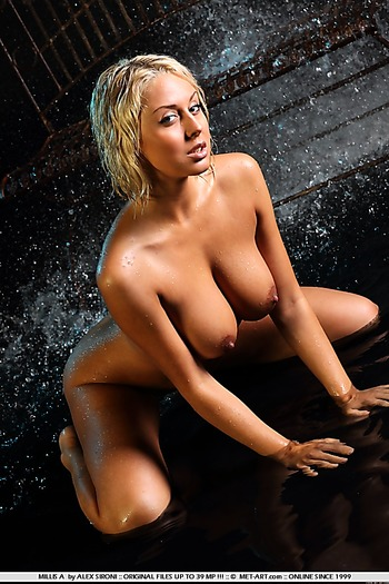 babe, big tits, shaved, blonde ,
