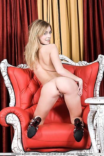 pussy , blonde ,  heels