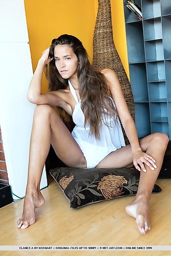skinny, trimmed , brunette, long hair, long legs, indoors, panties