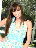 Charming doll gets oh so horny alfresco
